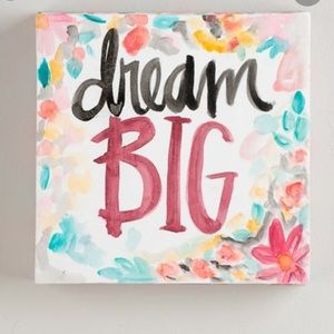 Other - Dream Big | Small Canvas